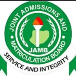 Jamb departmental cut off mark