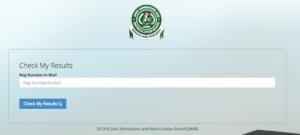 Jamb result checker 2019/2020