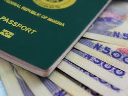 Nigerian international passport prices