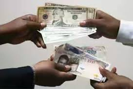 Naira to dollar exchange rate