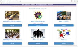 WAEC recruitment