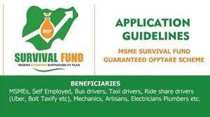 Survival Fund form
